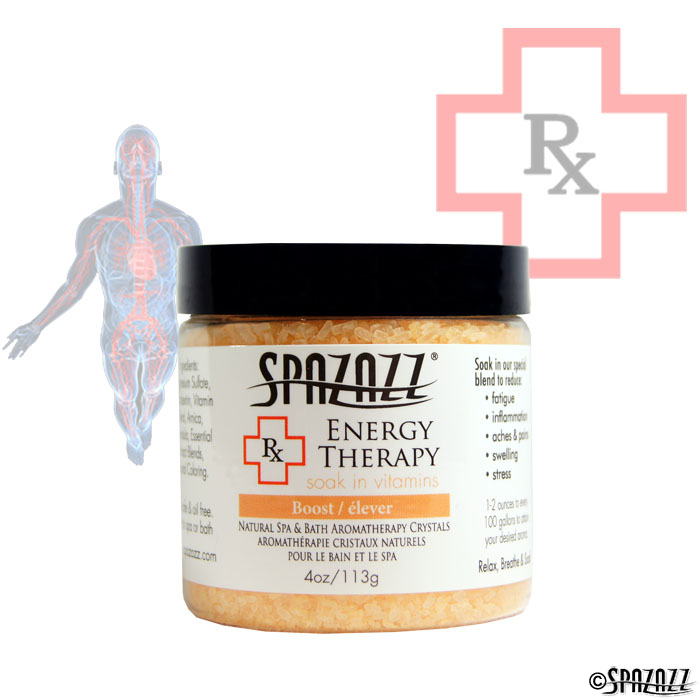 Spazazz RX Therapy Energy Therapy (Boost) Crystals